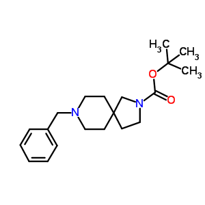 336191-16-3 tert-butyl 8-benzyl-2,8-diazaspiro[4.5]decane-2-carboxylate