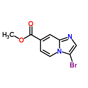 342613-63-2 Methyl 3-bromoimidazo[1,2-a]pyridine-7-carboxylate