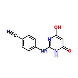374067-80-8 4-[(4-hydroxy-6-oxo-1H-pyrimidin-2-yl)amino]benzonitrile