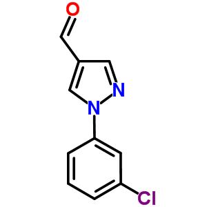 400877-26-1 1-(3-chlorophenyl)pyrazole-4-carbaldehyde
