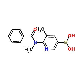 446299-81-6 [6-[benzoyl(methyl)amino]-5-methyl-3-pyridyl]boronic acid