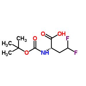 (S)-2-N-叔丁氧羰基氨基-4,4-二氟丁酸 467442-20-2
