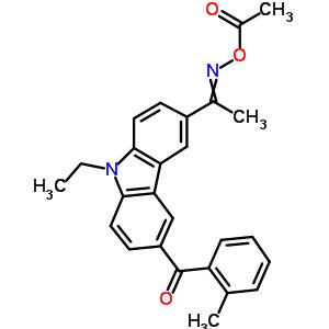 478556-66-0 [1-[9-ethyl-6-(2-methylbenzoyl)carbazol-3-yl]ethylideneamino] acetate