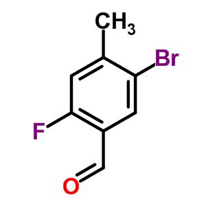 497224-12-1 5-bromo-2-fluoro-4-methyl-benzaldehyde