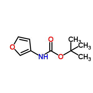 呋喃-3-叔丁基胺 56267-48-2