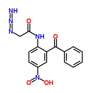 58077-08-0 2-azido-N-(2-benzoyl-4-nitro-phenyl)acetamide