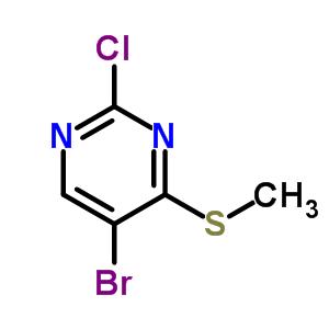 59549-51-8 5-bromo-2-chloro-4-methylsulfanyl-pyrimidine