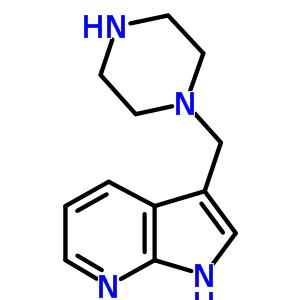 625386-57-4 3-(piperazin-1-ylmethyl)-1H-pyrrolo[2,3-b]pyridine