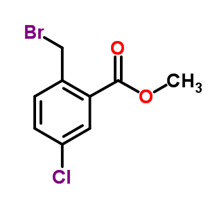 668262-52-0 methyl 2-(bromomethyl)-5-chloro-benzoate