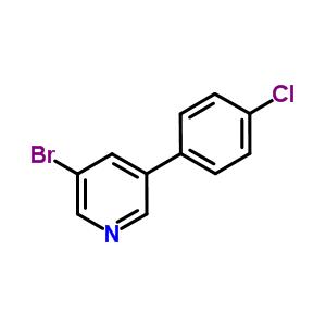 675590-22-4 3-bromo-5-(4-chlorophenyl)pyridine