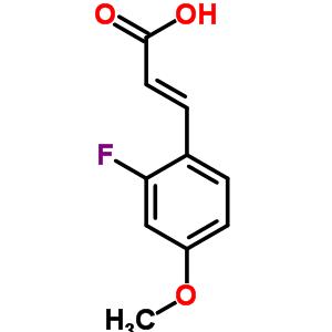 682805-00-1 (2E)-3-(2-fluoro-4-methoxyphenyl)prop-2-enoate