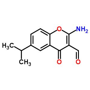 68301-82-6 2-amino-6-isopropyl-4-oxo-chromene-3-carbaldehyde