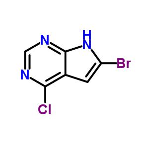 784150-41-0 6-bromo-4-chloro-7H-pyrrolo[2,3-d]pyrimidine