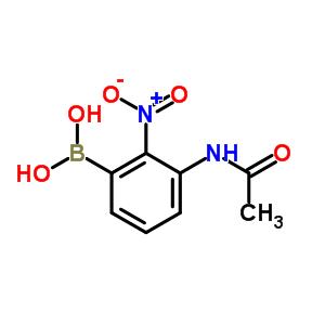 78887-38-4 (3-acetamido-2-nitro-phenyl)boronic acid