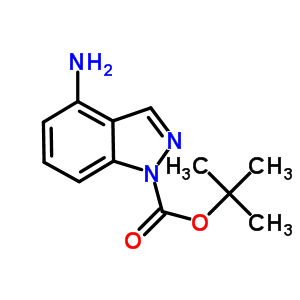 801315-74-2 tert-butyl 4-aminoindazole-1-carboxylate