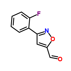 808740-52-5 3-(2-fluorophenyl)isoxazole-5-carbaldehyde