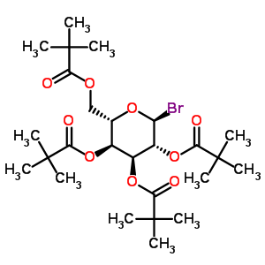 81058-27-7 [(2S,3S,4S,5R,6S)-6-bromo-3,4,5-tris(2,2-dimethylpropanoyloxy)tetrahydropyran-2-yl]methyl 2,2-dimethylpropanoate