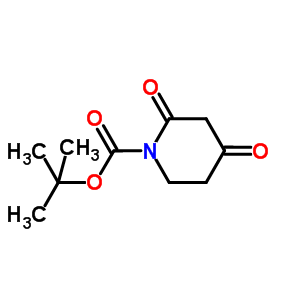 845267-78-9 tert-butyl 2,4-dioxopiperidine-1-carboxylate