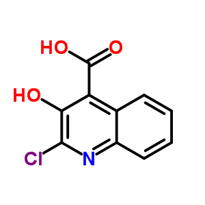 847547-91-5 2-chloro-3-hydroxy-quinoline-4-carboxylic acid