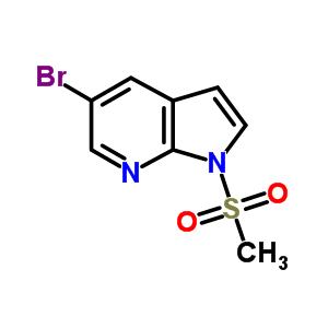 849068-04-8 5-bromo-1-methylsulfonyl-pyrrolo[2,3-b]pyridine