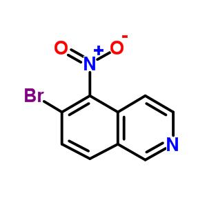 850197-72-7 6-bromo-5-nitro-isoquinoline