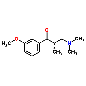 850222-40-1 (2S)-3-(dimethylamino)-1-(3-methoxyphenyl)-2-methyl-propan-1-one