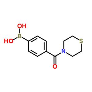 850568-28-4 [4-(thiomorpholine-4-carbonyl)phenyl]boronic acid