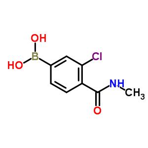 850589-39-8 [3-chloro-4-(methylcarbamoyl)phenyl]boronic acid
