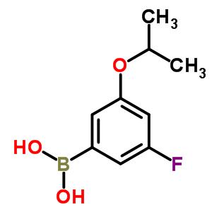 850589-54-7 (3-fluoro-5-isopropoxy-phenyl)boronic acid