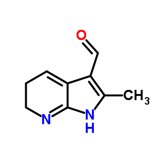 858275-30-6 2-methyl-5,6-dihydro-1H-pyrrolo[2,3-b]pyridine-3-carbaldehyde