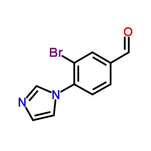 861932-08-3 3-bromo-4-imidazol-1-yl-benzaldehyde