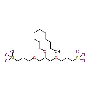 1,3-双(3-三氯硅丙氧基)-2-癸烷氧基丙烷 862912-02-5