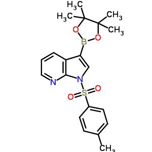 866545-91-7 1-(p-tolylsulfonyl)-3-(4,4,5,5-tetramethyl-1,3,2-dioxaborolan-2-yl)pyrrolo[2,3-b]pyridine