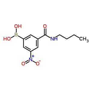 871332-89-7 [3-(butylcarbamoyl)-5-nitro-phenyl]boronic acid