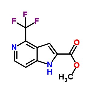 871583-18-5 methyl 4-(trifluoromethyl)-1H-pyrrolo[3,2-c]pyridine-2-carboxylate