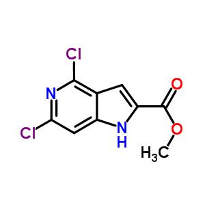 871583-20-9 methyl 4,6-dichloro-1H-pyrrolo[3,2-c]pyridine-2-carboxylate