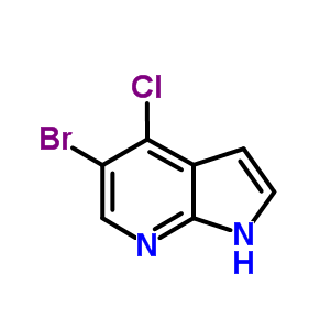 876343-82-7 5-Bromo-4-chloro-1H-pyrrolo[2,3-b]pyridine
