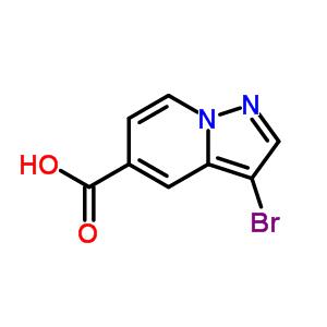 876379-79-2 3-bromopyrazolo[1,5-a]pyridine-5-carboxylic acid