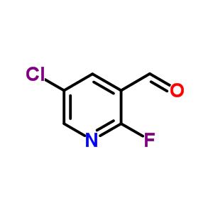 882679-90-5 5-chloro-2-fluoro-pyridine-3-carbaldehyde