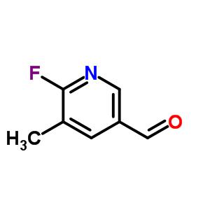 2-氟-3-甲基-5-甲酰基吡啶 884495-04-9