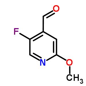 2-甲氧基-4-甲酰基-5-氟吡啶 884495-12-9