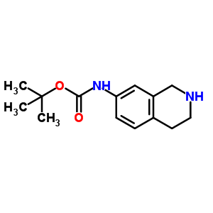 885270-54-2 tert-Butyl 1,2,3,4-tetrahydroisoquinolin-7-ylcarbamate