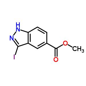 3-碘-5-吲唑羧酸甲酯 885271-25-0