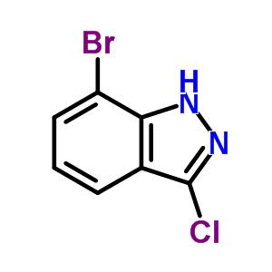 885271-75-0 7-Bromo-3-chloro-1H-indazole