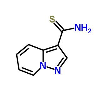 pyrazolo[1,5-a]pyridine-3-carbothioamide 885275-44-5