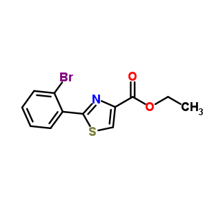 885278-78-4 ethyl 2-(2-bromophenyl)thiazole-4-carboxylate