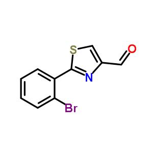 885279-14-1 2-(2-bromophenyl)thiazole-4-carbaldehyde