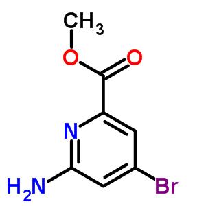 885326-88-5 Methyl 6-amino-4-bromopyridine-2-carboxylate