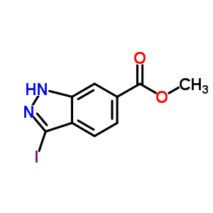 885518-82-1 methyl 3-iodo-1H-indazole-6-carboxylate