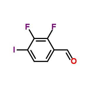 2,3-二氟-4-碘苯甲醛 885590-99-8